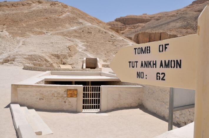 Tumba de Tutankamón en Valey de los Reyes