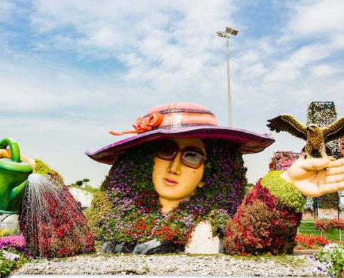 Scenic beauty at Dubai Miracle Garden