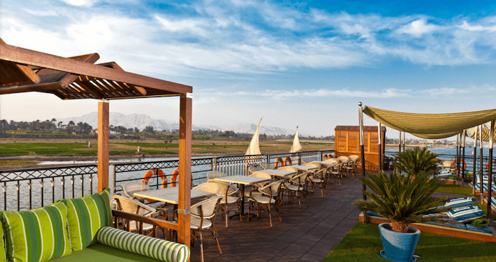 MS Mayfair Nile Cruise Sun Deck