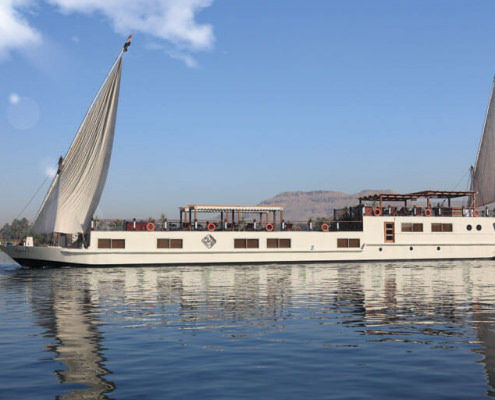 Merit Dahabiya Nile Cruise