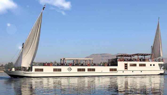 Merit Dahabiya Nile River Cruise Itinerary