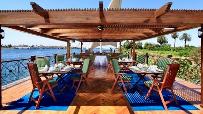 Merit Dahabiya Luxury Nile Cruise - Sundeck 3
