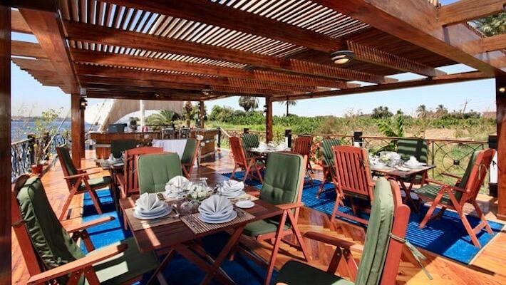 Merit Dahabiya Luxury Nile Cruise - Sundeck 4
