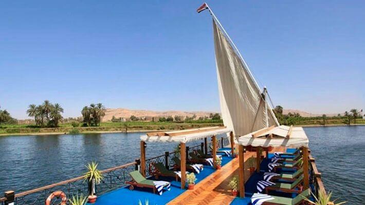 Merit Dahabiya Luxury Nile Cruise - Sundeck