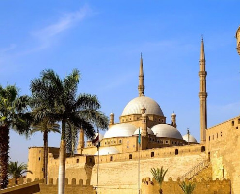 Alabaster Mosque of Mohamed Ali and Saladin Citadel of Cairo