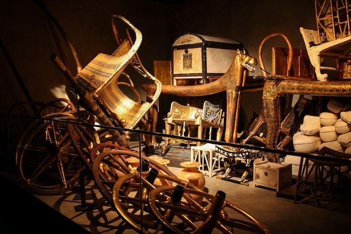 Treasure Room of Tutankhamen