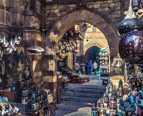 Vacationing in Egypt - Haggle when shopping in Egypt