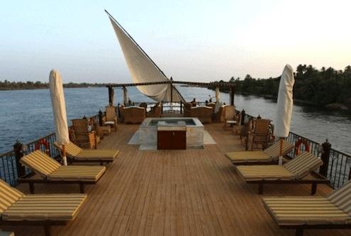 Luxury Trips to Egypt - Luxury Dahabiya Nile Cruise