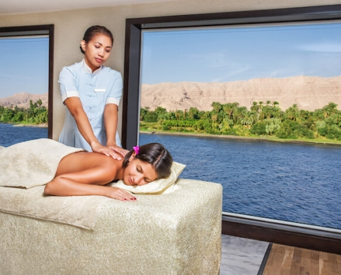 Oberoi Philae Nile Cruise Spa 1