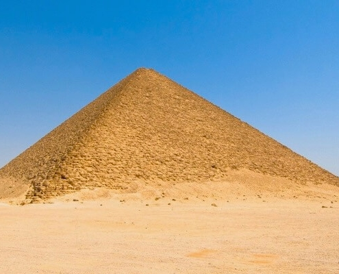 Egypt Pyramids Tours - Red Pyramid at Dahshur