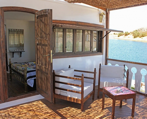 Sai Dahabiya Lake Cruise - Room and Balcony