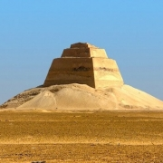 Visit the Egyptian Pyramids - The Meidum Pyramid in Egypt