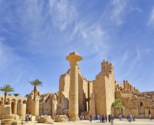 Egyptian Honeymoon - Karnak Temple - UNESCO World Heritage Site