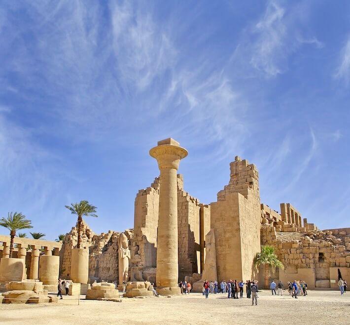 Egyptian Honeymoon - Karnak Temple - UNESCO World Heritage Site