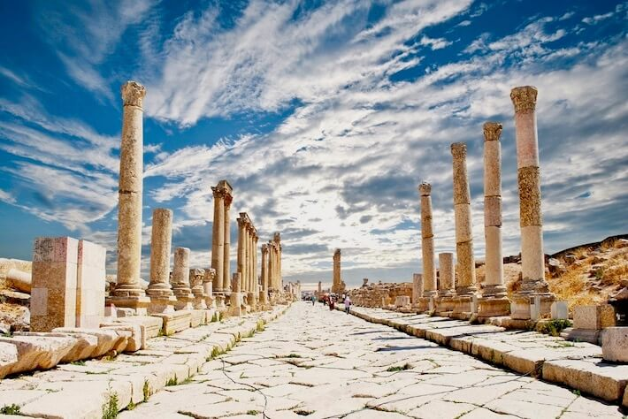 Best time of year to visit Egypt and Jordan - Ancient city of Jerash in Jordan