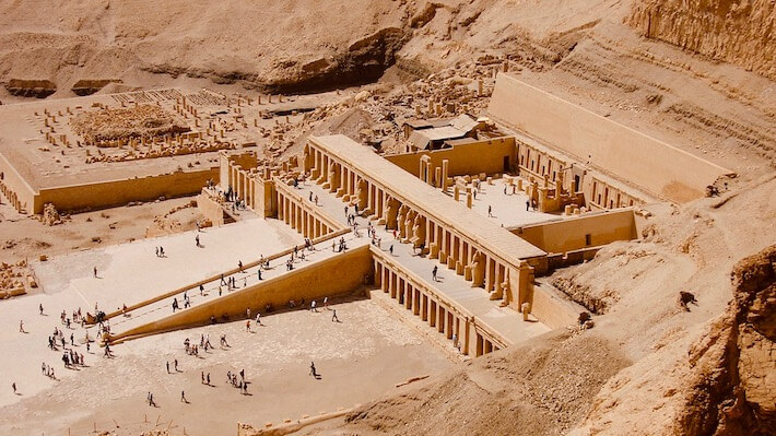 Hatshepsut Temple in Luxor during peak travel months