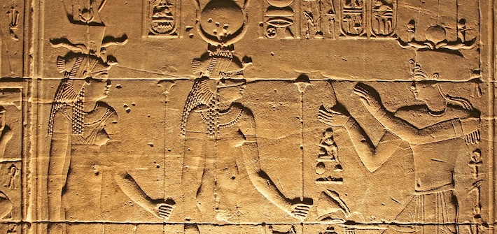 Best Itinerary for Egypt - Hieroglyphics on wall