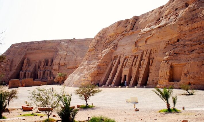 Best time to visit Egypt Jordan - Abu Simbel Temples