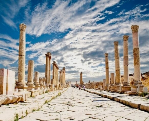 Jordan Tours from Egypt - Jerash in Jordan