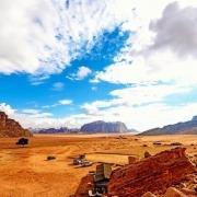 Jordan Tour Packages from USA - The scenic desert in Wadi Rum, Jordan Lawrence's Spring