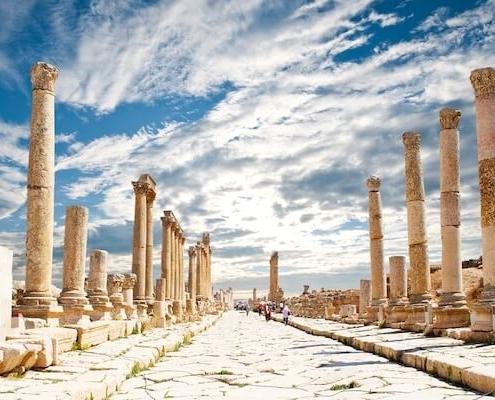 Egipto y Jordania combinado