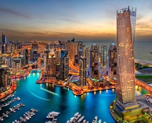 Egito e Dubai