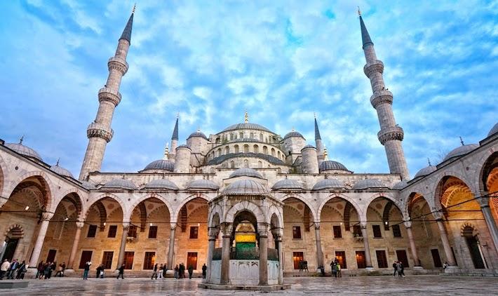 Egito, Turquia e Grécia