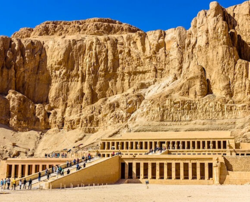Egypt Tour Operator - Mortuary temple of Hatshepsut in Deir el-Bahari - Egypt