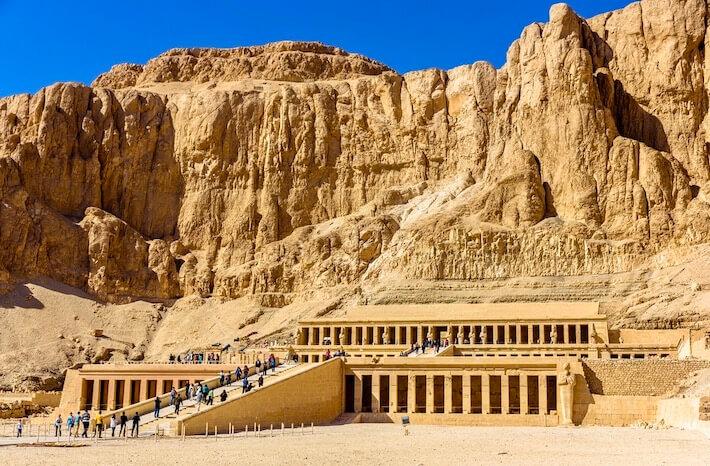 Egypt Tour Operator - Mortuary temple of Hatshepsut in Deir el-Bahari - Egypt