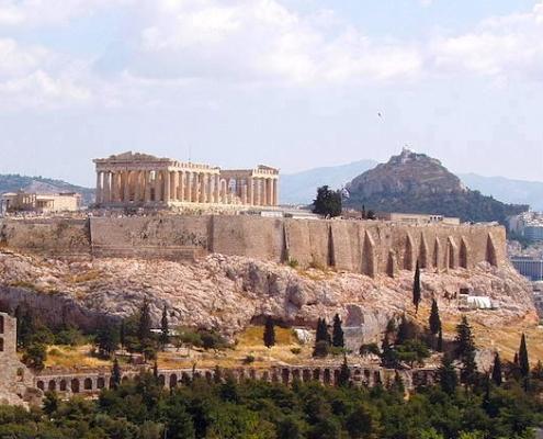 Viagem para Egito e Grécia