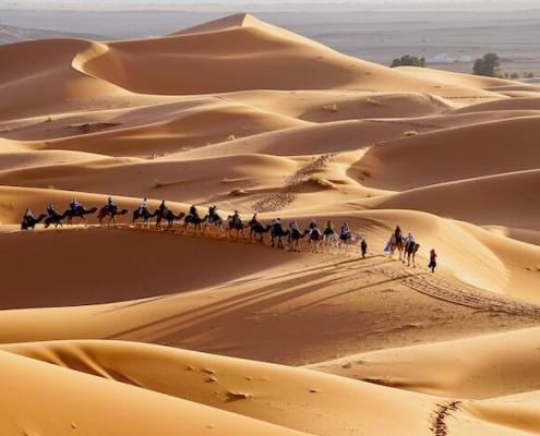 Viajes a Medio Oriente desde Argentina