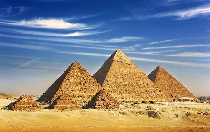 Conheça as Pirâmides do Egito