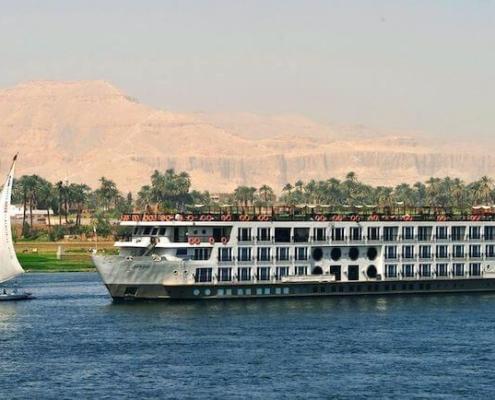 Crucero Mayfair – Crucero por el Nilo en barco de lujo