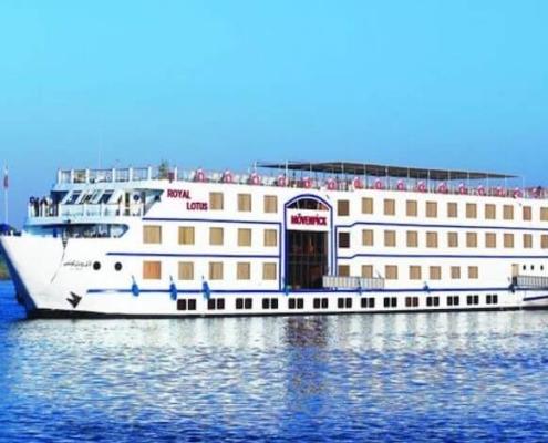 Crucero Royal Lotus – Crucero por el Rio Nilo en Egipto