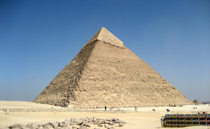 Pirámide de Khafre (Chephren)