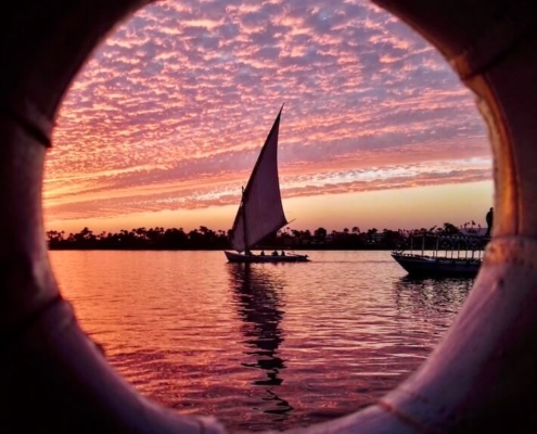 Egypt Multi-Center Holidays - Felucca Boat on the Nile