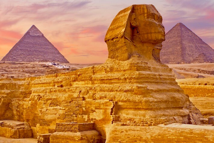 Egypt Travel Tips - The Great Sphinx, Giza Plateau
