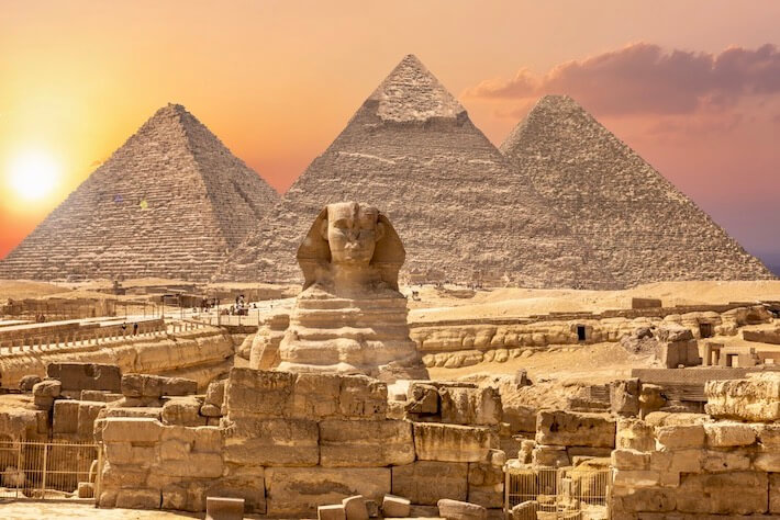 Luxury Middle East Tours - The Sphinx and the Pyramids, Giza, Egypt