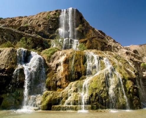 Ma'in Hot Springs aka Hammamat Ma'in