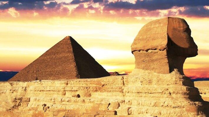 Pontos turísticos do Egito