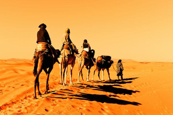 Pontos turísticos do Marrocos