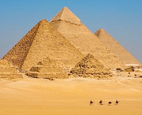 Camel Ride at the Giza Pyramids