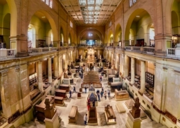 Giza Pyramids and Egyptian Museum Tour