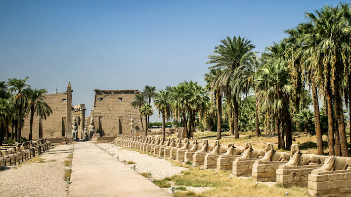 Luxor temple is always included in Egypt tours from Mumbai