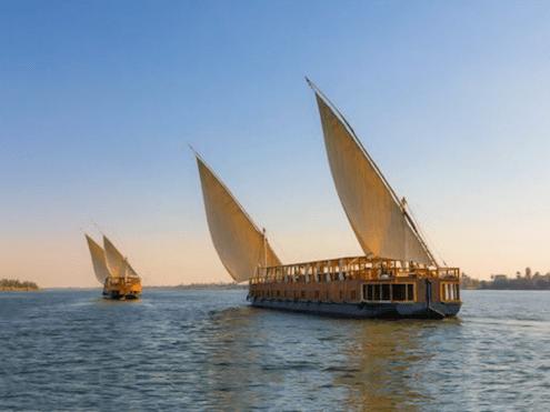 8-Day Nuut or Nuun Dahabiya Nile Cruise