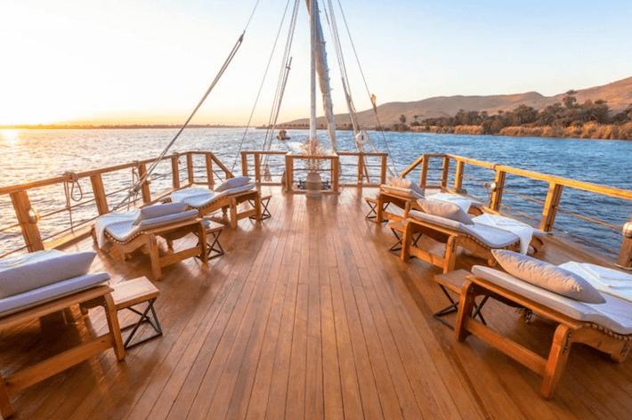 Luxor to Aswan Dahabiya Nile cruise